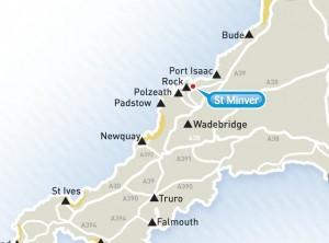 St. Minver map