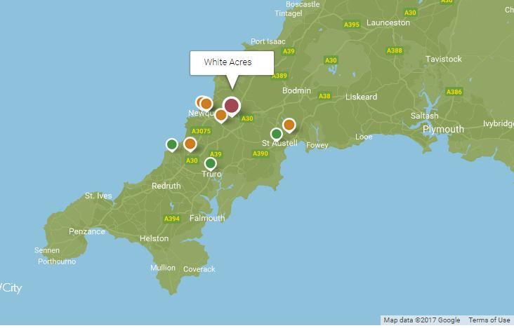 whiteacresmap